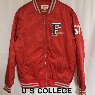 US.COLLEGE アメリカンカレッジ ナイロンスタジャン
