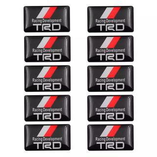 20枚 トヨタ TRD ミニステッカー エンブレム シール
