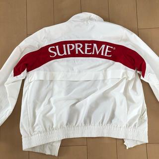 supreme  17aw arc trackjacket