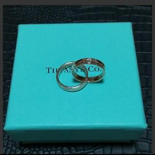 ティファニー(Tiffany & Co.)のティファニー インターロッキングルベドメタルリング(リング(指輪))