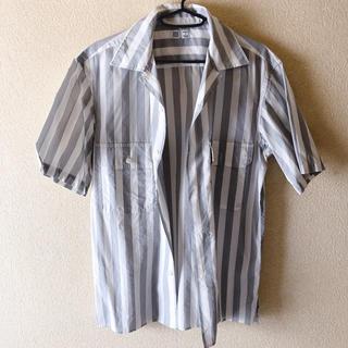 ユニクロ(UNIQLO)のオープンカラーシャツ(シャツ)