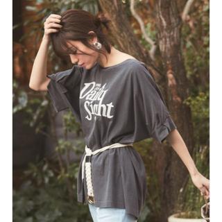 ベイフロー(BAYFLOW)の新作ピグメントビッグTシャツ(Tシャツ(半袖/袖なし))