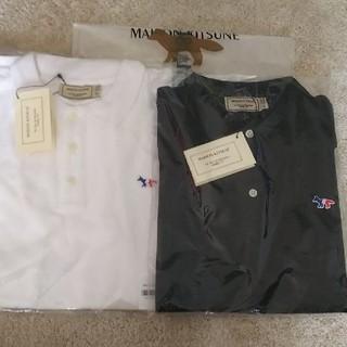 メゾンキツネ(MAISON KITSUNE')の2枚セット! メゾンキツネ ポロシャツ(ポロシャツ)