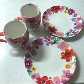 フランフラン(Francfranc)のFrancfrancマグカップ、お皿セット(食器)