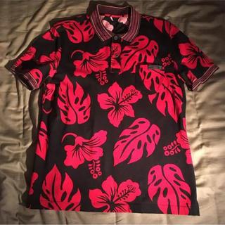 プラダ(PRADA)のprada 14ss ポロシャツ ボタニカル アロハ(ポロシャツ)
