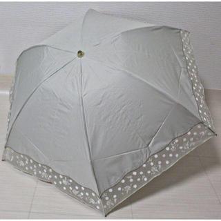 アンテプリマ(ANTEPRIMA)の《アンテプリマ》新品 花柄刺繍 晴雨兼用折りたたみ傘 超軽量(傘)