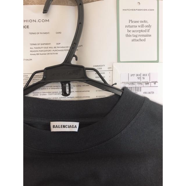 Balenciaga(バレンシアガ)のbalenciaga long sleeve メンズのトップス(Tシャツ/カットソー(七分/長袖))の商品写真