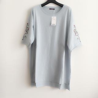 アーバンリサーチ(URBAN RESEARCH)の新品 アーバンリサーチ 袖刺繍Tシャツ(Tシャツ(半袖/袖なし))