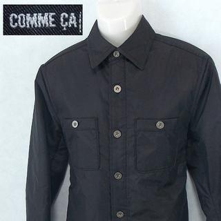 【COMME CA】 良品 コムサ 中綿ジャケット 薄手 サイズ48