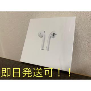 アップル(Apple)のApple air pods MV7N2J/A(第2世代) ワイヤレス充電(ヘッドフォン/イヤフォン)