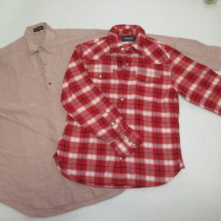 ユニクロ(UNIQLO)のセット★TRANS CONTINENTS&Right On チェックシャツ (シャツ)