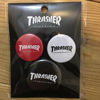 THRASHER - スラッシャー thrasher 缶バッジ 3個セット 未使用品