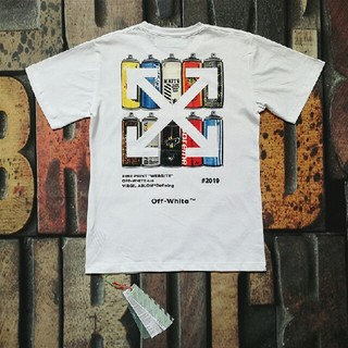 OFF-WHITE - OFFWHITE Tシャツ 男女兼用 お洒落