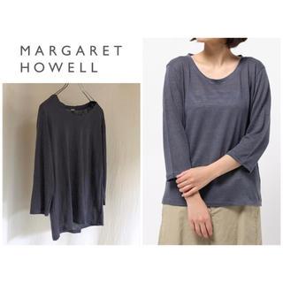 MARGARET HOWELL - マーガレットハウエル 16SS FINE LINEN JERSEY 日本製 麻