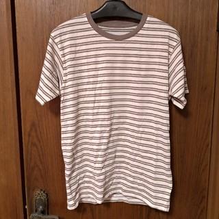 ユニクロ(UNIQLO)の[訳あり]メンズ ユニクロ カラークルーネックTシャツ(半袖) M(Tシャツ/カットソー(半袖/袖なし))