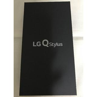 LG Electronics - LG Electronics Q Stylus ブルー 青 SIMフリー 新品