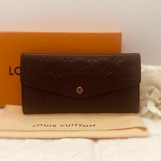 LOUIS VUITTON - 人気商品❤ ルイヴィトン LV 長財布 財布 アンプラント こげ茶