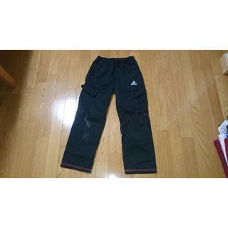 アディダス(adidas)の男児140adidasアディダス綿パンツ黒ブラック長ズボン(パンツ/スパッツ)