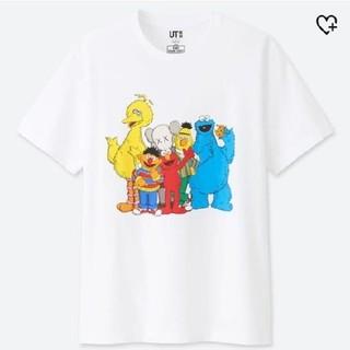 ユニクロ(UNIQLO)のUNIQLO新品タグ付き☆セサミストリートTシャツS(Tシャツ/カットソー(半袖/袖なし))