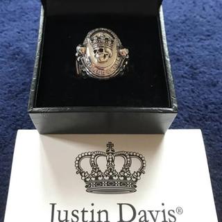 ジャスティンデイビス(Justin Davis)の新品◆JUSTIN DAVIS◆スカルヴィーナスリング◆17号◆96,120円◆(リング(指輪))