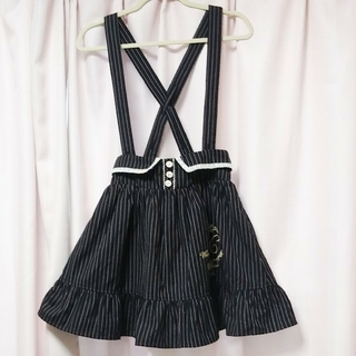 LIZ LISA - penderie ペンデリー ストライプ 刺繍 スカート
