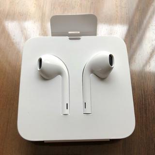 アップル(Apple)のiPhone  イヤホン  アップル純正(ヘッドフォン/イヤフォン)