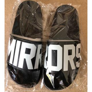 mirror9  サンダル フラット シャワーサンダル 新品 M L(サンダル)