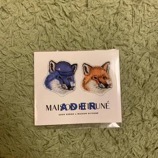 MAISON KITSUNE' - ader×kitsune未開封ステッカー