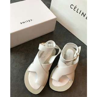 セリーヌ(celine)のceline  サンダル  サイズ36(23CM)(サンダル)
