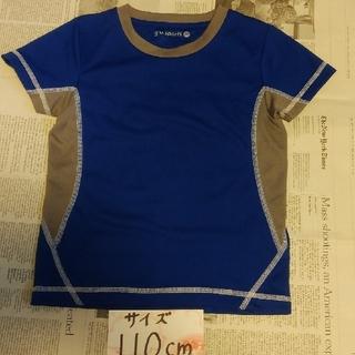 ジーユー(GU)の男児⑩ 110 半袖 GUドライメッシュTシャツ(Tシャツ/カットソー)
