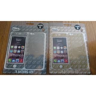 アベイシングエイプ(A BATHING APE)のAPE X gizmobies  iphone6  2種セット(iPhoneケース)