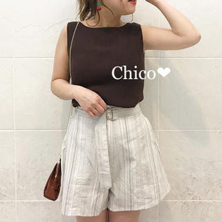 who's who Chico - 定価¥6,372❤︎ハイウエストキュロットショーパン
