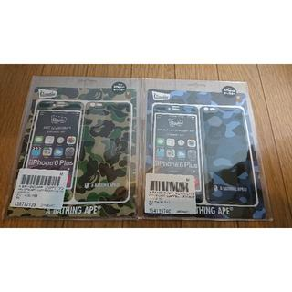 アベイシングエイプ(A BATHING APE)のAPE X gizmobies  iphone6plus 2種セット(iPhoneケース)