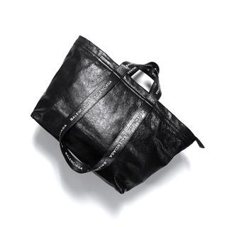 バレンシアガ(Balenciaga)の正規品 BALENCIAGA バレンシアガ レザートートバッグ ブラック(トートバッグ)