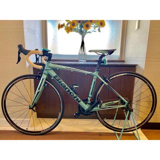 ビアンキ(Bianchi)のビアンキ ロードバイク ビア ニローネ サイズ46(自転車本体)