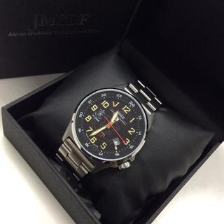 9544333974 ケンテックス(KENTEX)の未使用 JMSDF KENTEX J・SOLAR100M 時計(腕時計