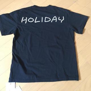 ホリデイ(holiday)の新品未使用 HOLIDAY Tシャツ(Tシャツ(半袖/袖なし))