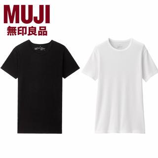 ムジルシリョウヒン(MUJI (無印良品))の無印良品 メンズインナー 2着セット M  (Tシャツ/カットソー(半袖/袖なし))