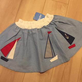 familiar - 新品 familiar スカート♡100