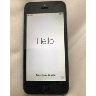 アップル(Apple)のiphone5 本体(スマートフォン本体)