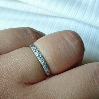 売り切り希望ダイヤモンドリング