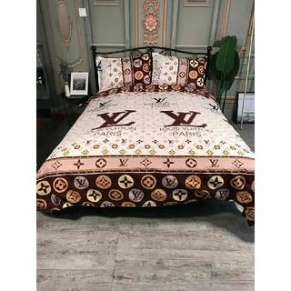 四季適用 寝具カバー 2枚枕カバー 4点セット 掛け布団カバーLV