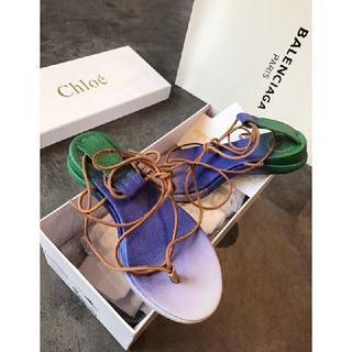 クロエ(Chloe)のChloe フラットサンダル19SS(サンダル)