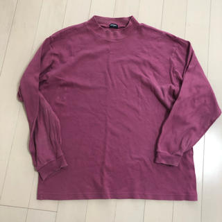 ユニクロ(UNIQLO)のUNIQLO カットソー メンズ 中古 格安 送料無料(Tシャツ/カットソー(七分/長袖))