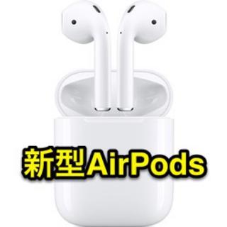 アップル(Apple)の第二世代•Apple新型AirPodsワイヤレスイヤホン本体のみ(ヘッドフォン/イヤフォン)