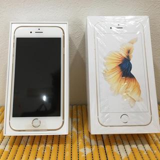 iPhone - 新品未使用 iPhone6s 32GB ゴールド SIMフリー
