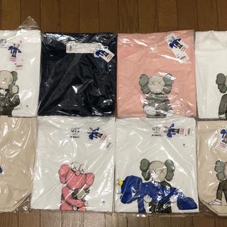 ユニクロ(UNIQLO)の【Mサイズ】UNIQLO KAWS Tシャツ・バッグ 8点セット(Tシャツ/カットソー(半袖/袖なし))
