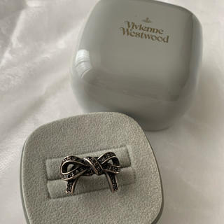 ヴィヴィアンウエストウッド(Vivienne Westwood)のさい様専用/廃盤 新型 ボウリング ブラック(リング(指輪))