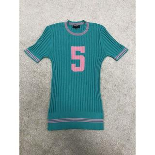 シャネル(CHANEL)のCHANELNo.5 シルクTシャツ(ニット/セーター)