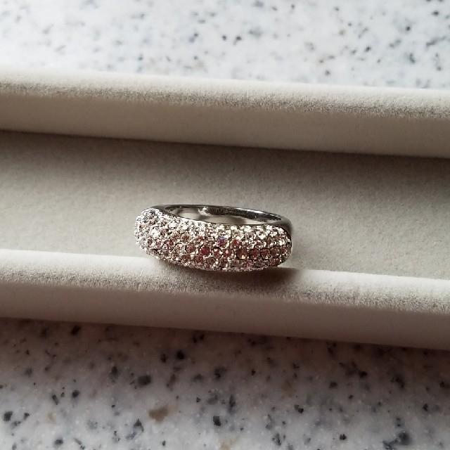 ゴージャスパヴェリング レディースのアクセサリー(リング(指輪))の商品写真